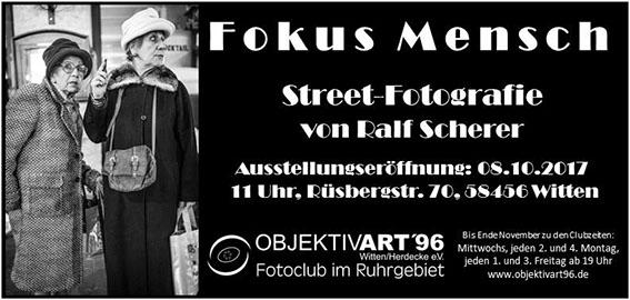 Fokus Mensch – Ausstellung von Ralf Scherer