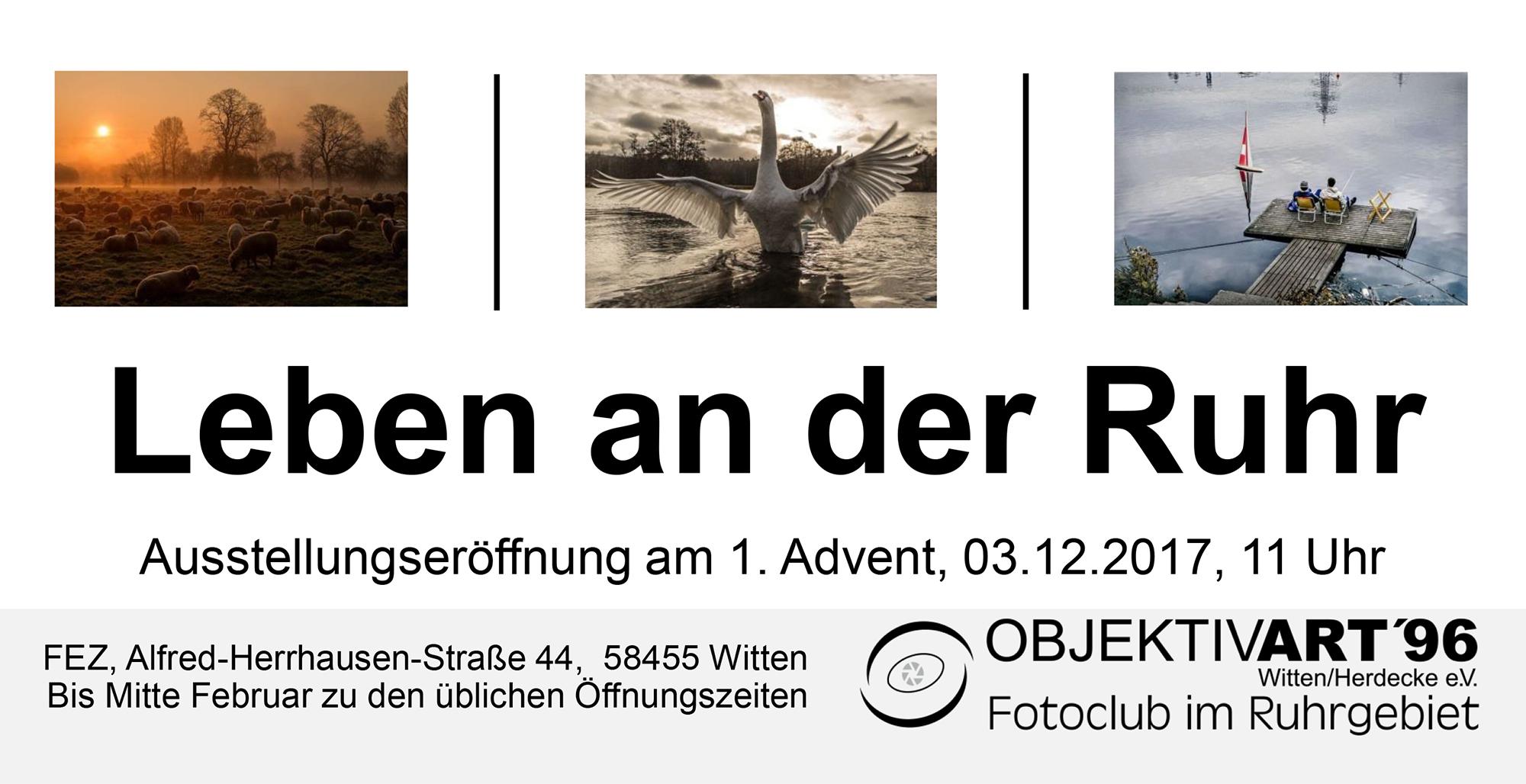 Leben an der Ruhr – Clubausstellung im FEZ