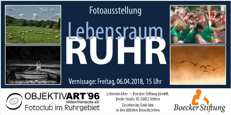Lebensraum Ruhr – Clubausstellung in der Boecker Stiftung