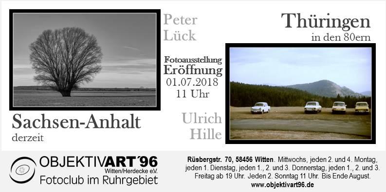 Sachsen-Anhalt derzeit und Thüringen in den 80igern – Eine Fotoausstellung von Peter Lück und Ulrich Hille