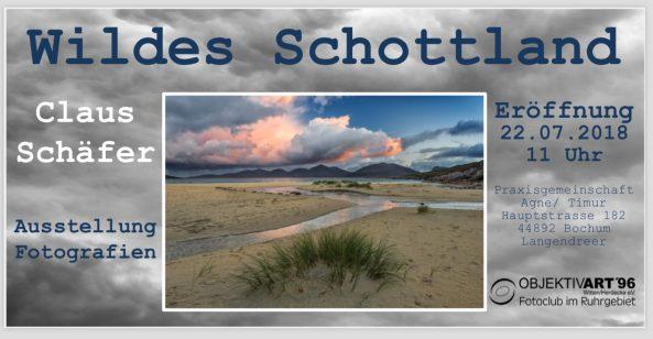 Wildes Schottland – Eine Ausstellung von Claus Schäfer