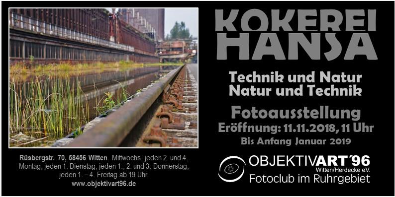 KOKEREI HANSA – Technik und Natur ←→ Natur und Technik – Eine Clubausstellung