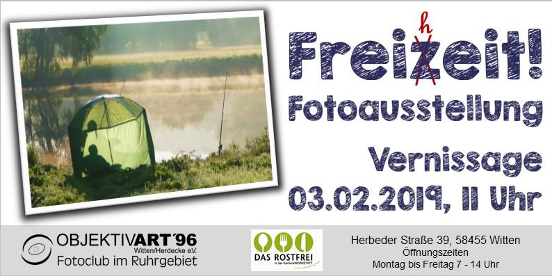 """FreiZeit- FreiHeit – Eine Clubausstellung in der Kantine """"Das  Rostfrei """""""