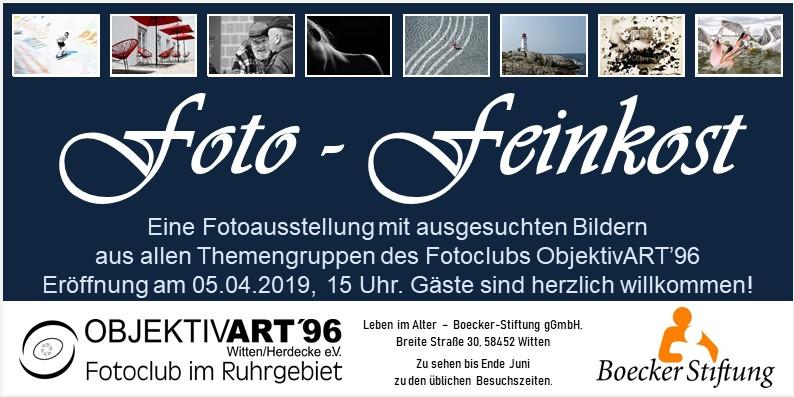 Foto-Feinkost – Clubausstellung in der Boecker Stiftung