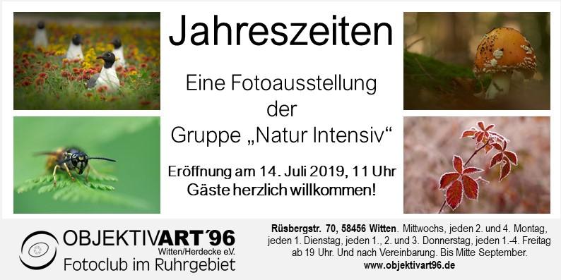 Jahreszeiten – Eine Clubausstellung der Themengruppe Natur-Intensiv