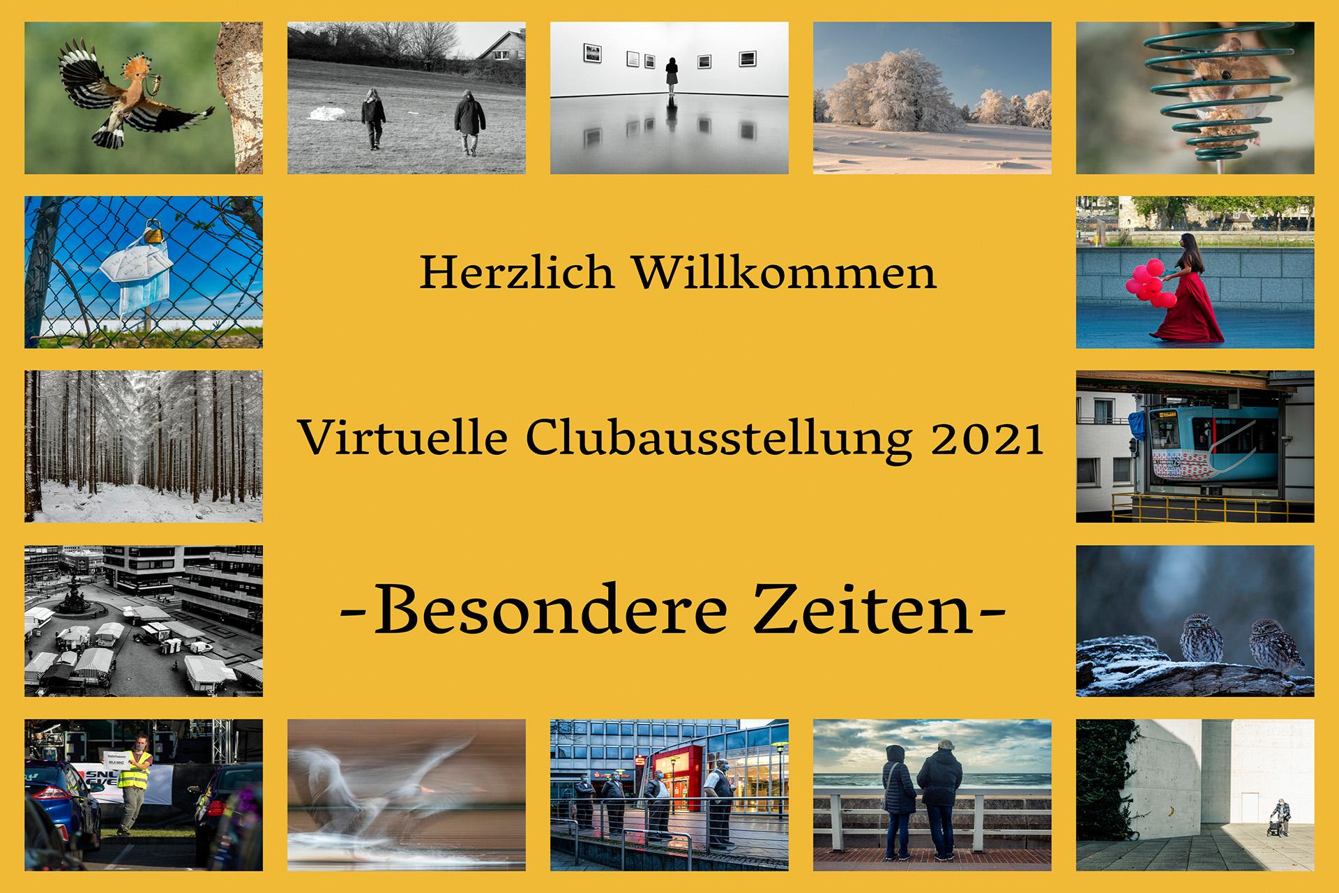 Virtuelle Clubausstellung: Besondere Zeiten